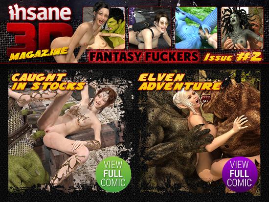 insane 3d porn comics